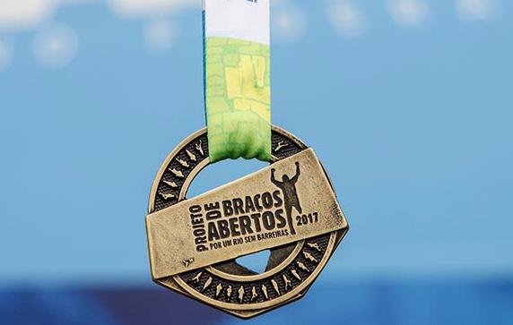 Medalha do Projeto de Braços Abertos 2017