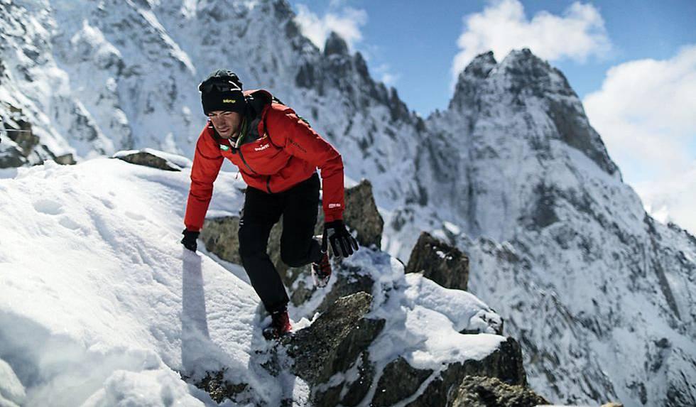 O espanhol Kilian Jornet no Everest