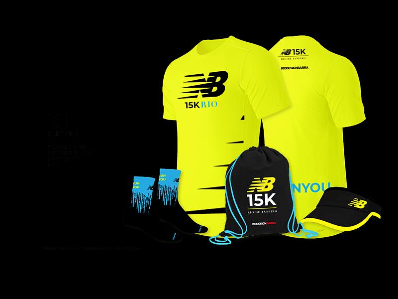 Kit New Balance 15K Rio
