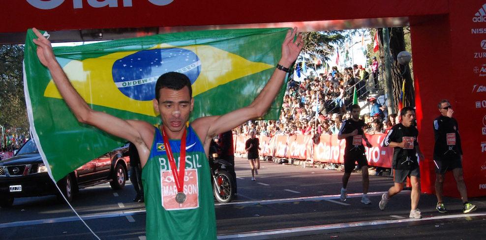 Marílson Gomes dos Santos é o maior vencedor do Sul-Americano de Meia Maratona