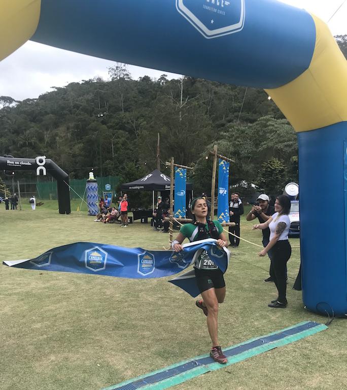 Ana Paula Silveira vence os 21km da Camelbak Mountain Race no Hotel Le Canton