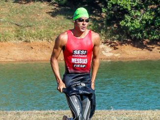 Classificado para as Olimpíadas de Tóquio-2020, Manoel Messias disputa o Triathlon Internacional de Santos. (Divulgação)